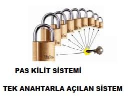Pas Kilit Sistemi